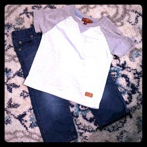 7 for All Mankind Outfit 12 Months